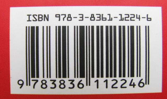 ISBN-13 mit dem Präfix 978 vor dem Länderkürzel